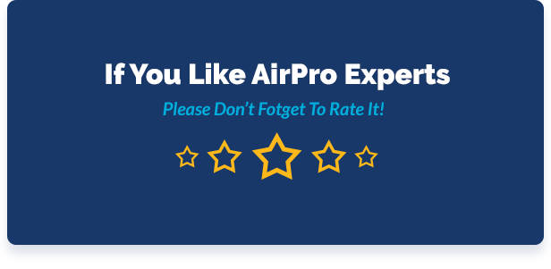 airpro theme rating